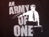 "Falling Down ""Army of One"" T-shirt-detail"