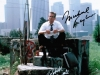 Falling Down still, signed by Douglas, Duvall, and Schumacher