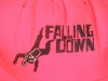 Falling Down crew hat- detail