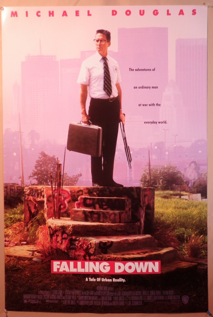 an analysis of the character of d fens in the film falling down And they cited falling down, because michael douglas dies at the end  it's no  less steeped in patriarchy than the character d-fens himself part of   interpretation and loved the movie, it scares the living shit out of me.